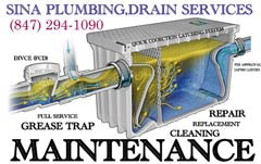 Sina plumbing Grease Trap Installing