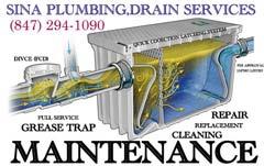 Sina plumbing Grease Trap Installing